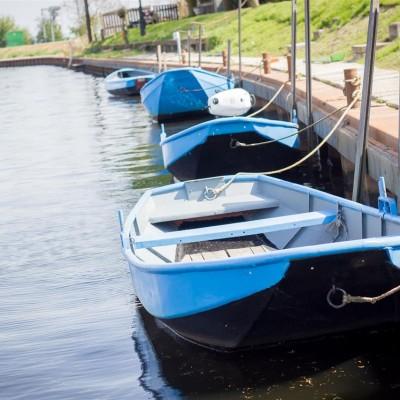 Roeiboot of boot met motor huren